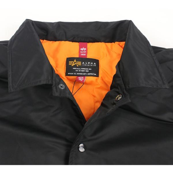 アルファ インダストリーズ メンズ コーチジャケット アウター ブルゾン 大きいサイズ 中綿|socalworks|03