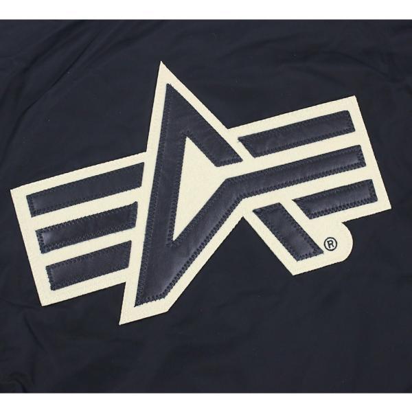 アルファ インダストリーズ メンズ コーチジャケット アウター ブルゾン 大きいサイズ 中綿|socalworks|05