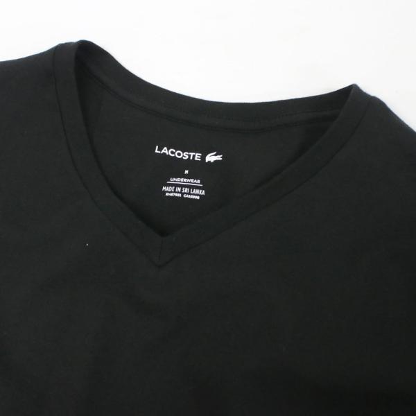 ラコステ LACOSTE メンズ MENS 半袖 コットン ワニ ワンポイント Vネック Tシャツ 大きいサイズ ブランド 男性用|socalworks|05