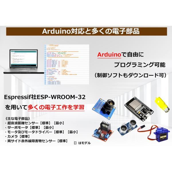 sLab-Car(エスラボ・カー)スマートロボットカー【Scratch・Arduino対応】スターターキット《IoT電子工作・プログラミング教育教材》 (標準)|socinno|04