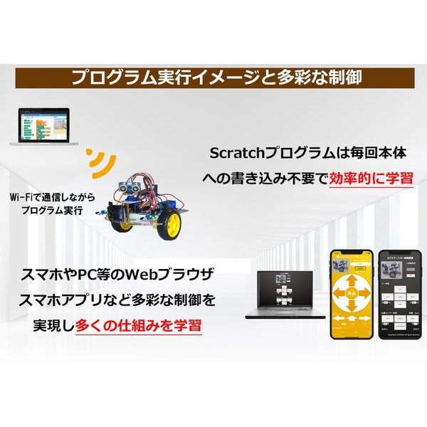 sLab-Car(エスラボ・カー)スマートロボットカー【Scratch・Arduino対応】スターターキット《IoT電子工作・プログラミング教育教材》 (最小)|socinno|03