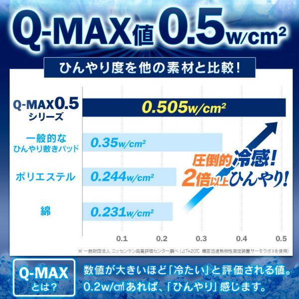 敷きパッド シングル 夏 接触冷感 ひんやり 敷パッド QMAX0.5接触冷感敷パッド シングル あすつく|sofort|03