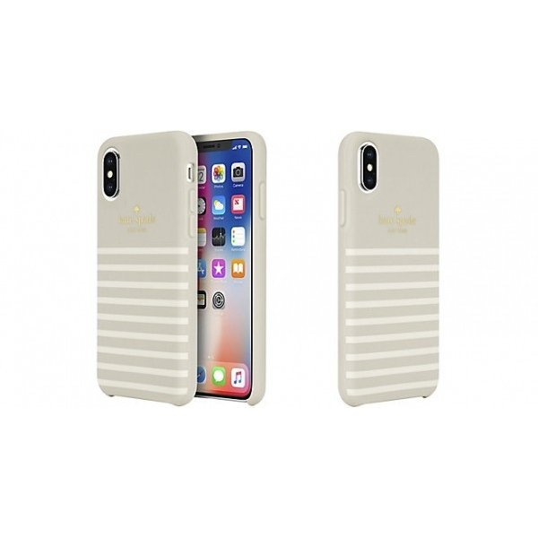 Kate Spade iPhoneXS iPhoneX ケース kate spade new york Protective Hardshell FEEDER STRIPE ケイトスペード スマホケース iphoneケース|softbank-selection|03