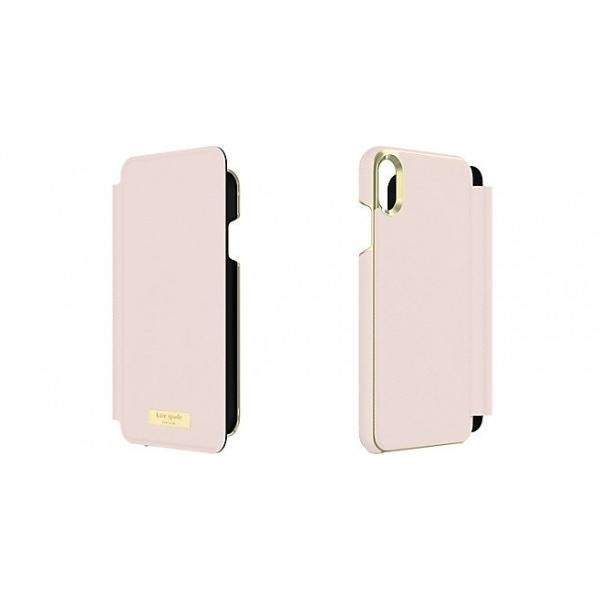 a2caca5973 ケイトスペード kate spade iPhone XS Max ケース 手帳型 kate spade new york INLAY WRAP ...
