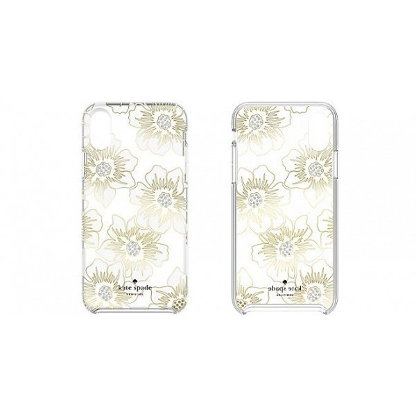 Kate Spade iPhoneXSMax ケース kate spade new york Protective Hardshell Reverse Holly Hock|softbank-selection|02
