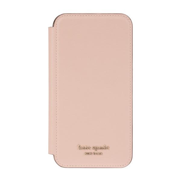 【アウトレット】 kate spade ケイトスペード iPhone 11 ケース カバー ブランド おしゃれ 手帳型 ピンク ゴールド