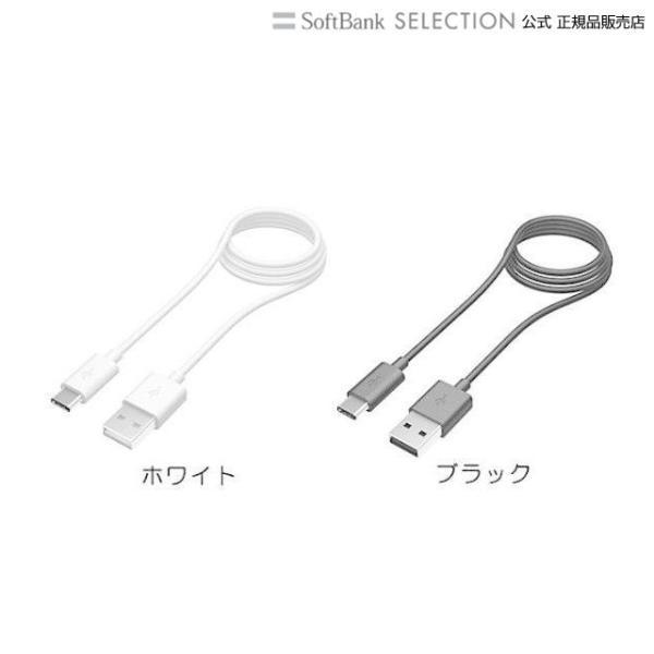 多摩電子工業 USB2.0 Type-C / USB-Aケーブル ブラック|softbank-selection