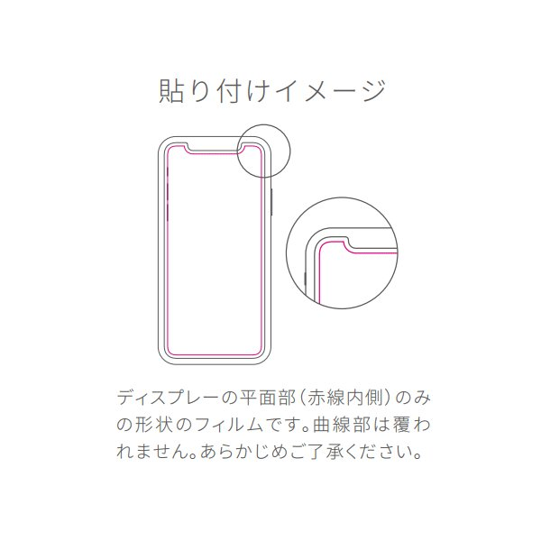 SoftBank SELECTION 衝撃吸収 高透明保護フィルム for iPhone X|softbank-selection|03