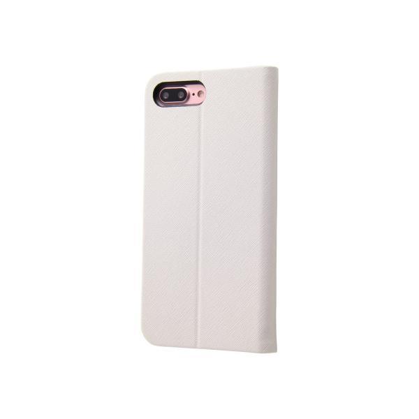 3406baee8b iPhone 7 Plus 手帳型ケース マグネットタイプ / ホワイト|softbank-selection ...