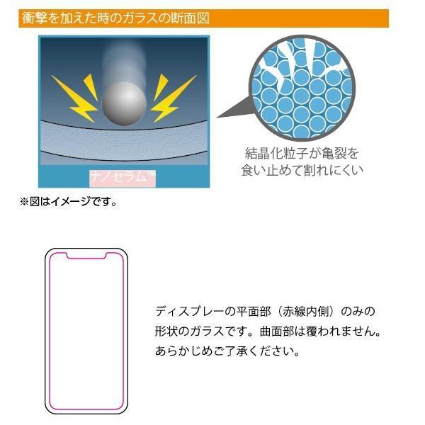 SoftBank SELECTION ナノセラム(TM)極強保護ガラス for iPhone XS / X|softbank-selection|03