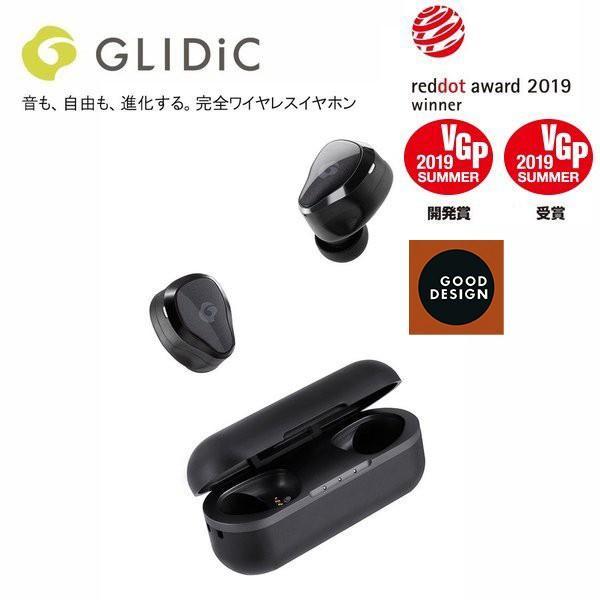 GLIDiC Sound Air TW-7000 アーバンブラック ワイヤレスイヤホン iPhone Bluetooth 両耳 高音質 ブルートゥース グライディック 日本正規代理店品|softbank-selection