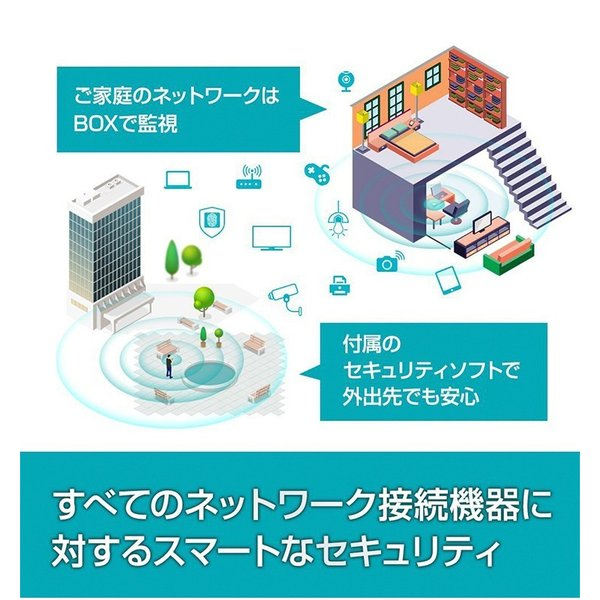 SECURIE HOME powered by Bitdefender 1年版 サイバーセキュリティ Windows Mac Android iOS|softbank-selection|04