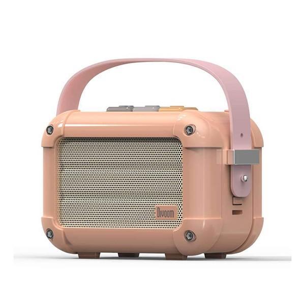 本格派Bluetoothスピーカー Macchiato(マキアート) Divoom FOX Royal Pink