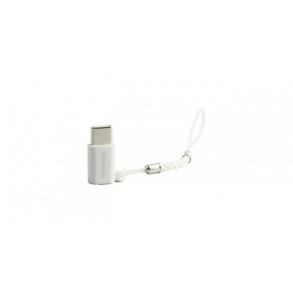 Owltech micro-USB メス / Type-C USB2.0 変換アダプタ 紛失防止ストラップ付 ブラック|softbank-selection|03