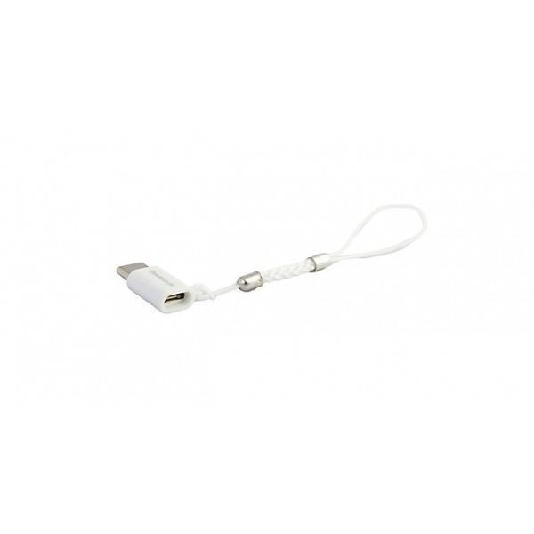 Owltech micro-USB メス / Type-C USB2.0 変換アダプタ 紛失防止ストラップ付 ブラック|softbank-selection|05