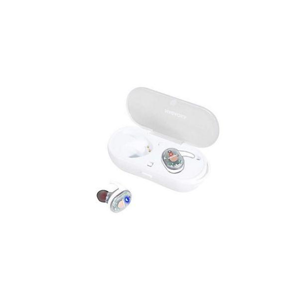NAGAOKA Bluetooth5.0対応 オートペアリング機能搭載 スケルトン完全ワイヤレスイヤホン スケルトンホワイト softbank-selection