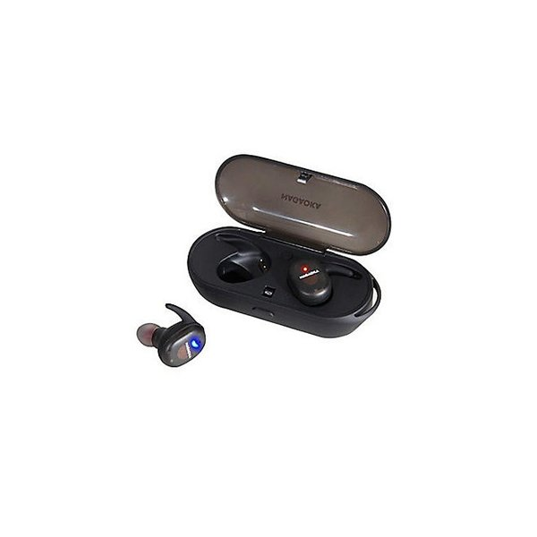 NAGAOKA Bluetooth5.0対応 オートペアリング機能搭載 スケルトン完全ワイヤレスイヤホン スケルトンホワイト softbank-selection 02