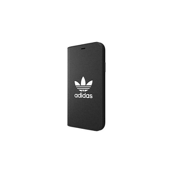 adidas iPhoneXR ケース 手帳型 OR Booklet Case CLASSICS TREFOIL FW18 ブラック/ホワイト|softbank-selection|07