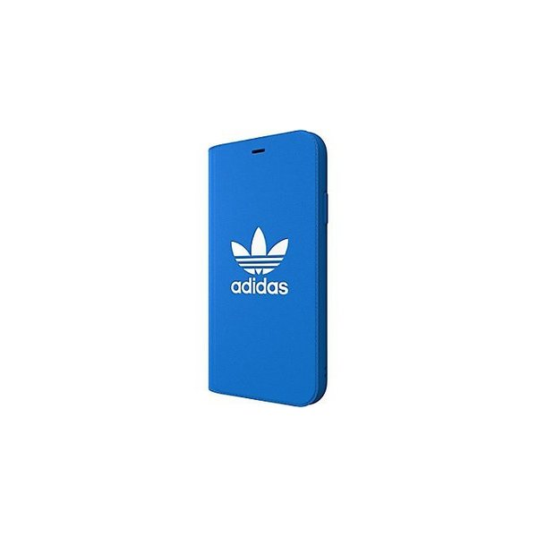 adidas iPhoneXR ケース 手帳型 OR Booklet Case CLASSICS TREFOIL FW18 ブラック/ホワイト|softbank-selection|08