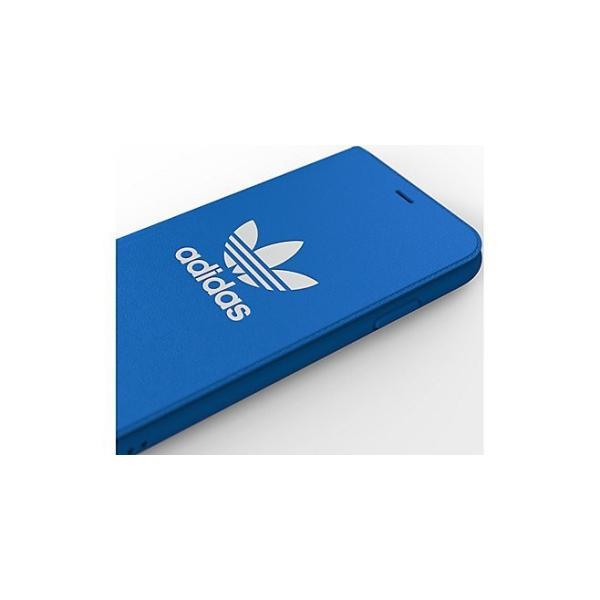 adidas iPhoneXR ケース 手帳型 OR Booklet Case CLASSICS TREFOIL FW18 ブラック/ホワイト|softbank-selection|10