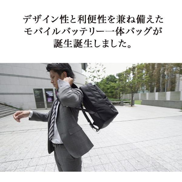 ポーター リュック PORTER RUCKSACK × Power Leaf  次世代バッテリー 吉田カバン コラボ|softbank-selection|03