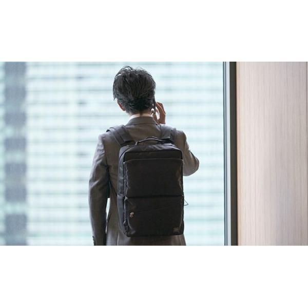 ポーター リュック PORTER RUCKSACK × Power Leaf  次世代バッテリー 吉田カバン コラボ|softbank-selection|07
