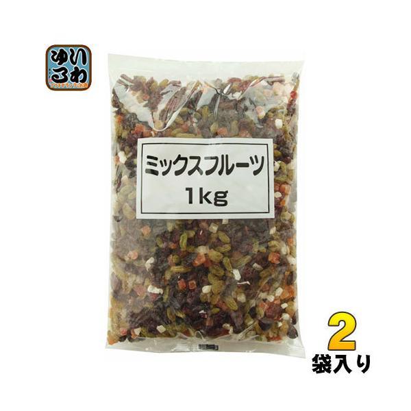 正栄食品 ミックスフルーツ 1kg 2袋 (1袋入×2 まとめ買い)〔デザート〕