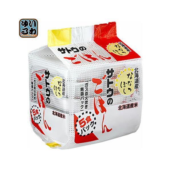 佐藤食品 サトウのごはん 北海道産ななつぼし 200gパック 5食セット×8個入×2 まとめ買い