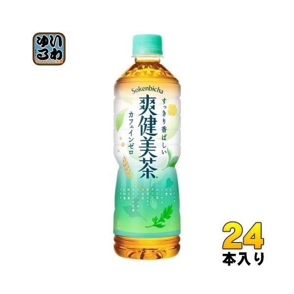 爽健美茶600mlペットボトル24本入コカ・コーラ〔お茶〕