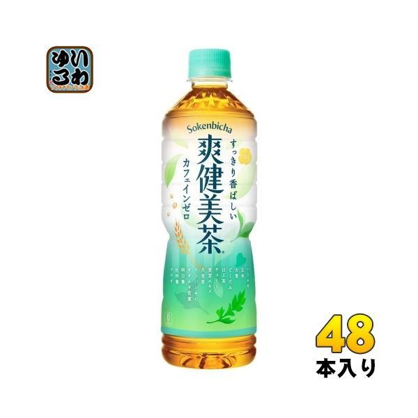 爽健美茶600mlペットボトル48本(24本入×2まとめ買い)コカ・コーラ〔お茶〕