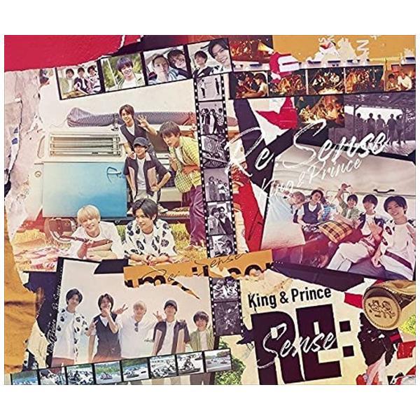 (おまけ付)Re:Sense (初回限定盤A) / King & Prince キングアンドプリンス キンプリ (CD+DVD) UPCJ9021-SK