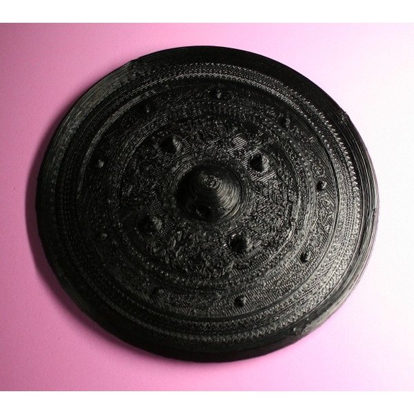 三角縁神獣鏡 唐草紋 全体形状確認用 sogensya