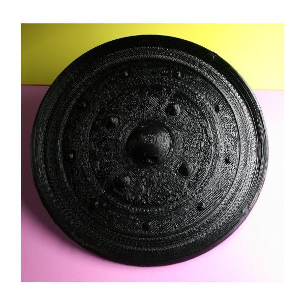 三角縁神獣鏡 唐草紋 全体形状確認用 sogensya 02