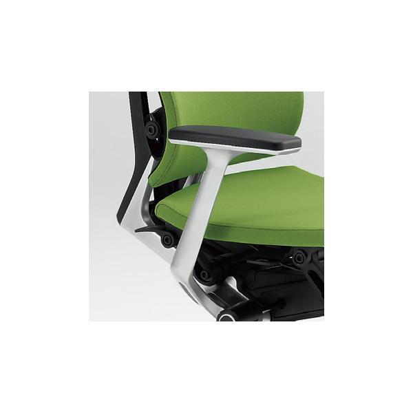 短納期商品 イトーキ Spina(スピーナチェア)専用オプション T型肘(シルバー) 左右セット 自社便 開梱・設置付|soho-st