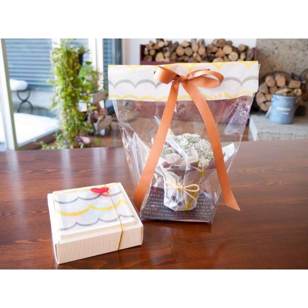 水縞 色柄グラシン ミニペーパー 4柄セット(各柄3枚・計12枚入) 半透明ラッピングペーパー 包装紙|sokana|03