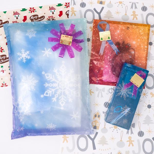 37%off 新作デザイングラシン紙 雪の結晶 グリッター フルーツ A4サイズ 半透明薄葉紙 ラッピング トランスパレントペーパー クリスマスセール 歳末セール sokana 05
