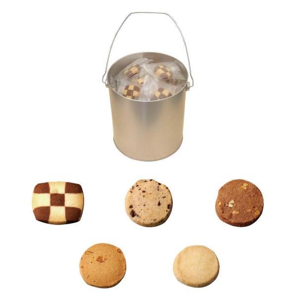 バケツ缶アラカルト(クッキー) 50枚入り 個包装メーカー直送KO  代引き・ラッピング・キャンセル不可