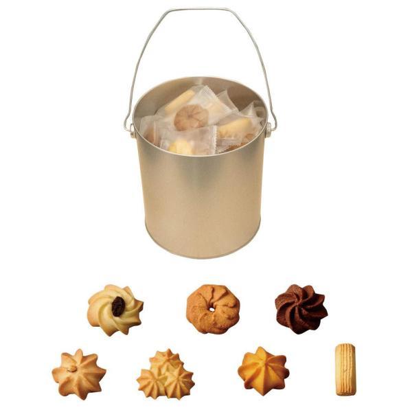 バケツ缶アラモード(クッキー) 56枚入り 個包装メーカー直送KO  代引き・ラッピング・キャンセル不可