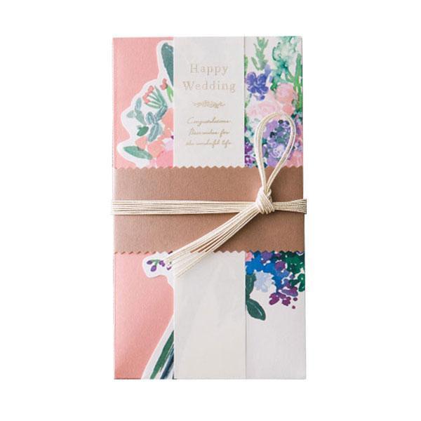 花を贈るご祝儀袋 Congrats Bouquet ピンク GGS-03メーカー直送KO  代引き・ラッピング・キャンセル不可