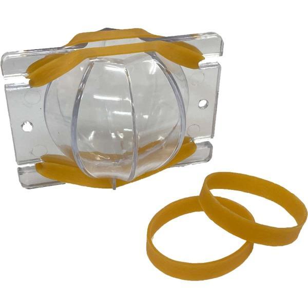 シリコンモールド キャンドル モールド 球体八面型 1個 約74×74×70mm 固まるハーバリウム モールド アロマワックス ハンドメイド 型