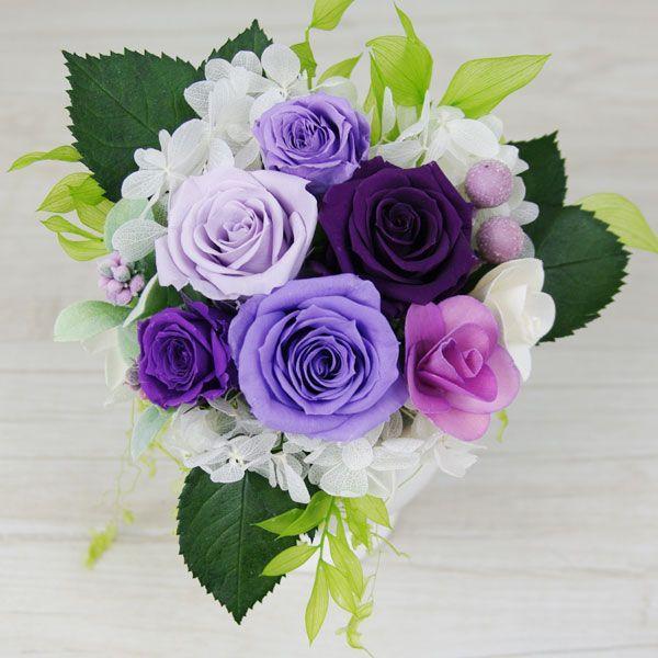 プリザーブドフラワー 結婚祝い 電報 祝電プレゼント 花 クリアケース ボックス candy 送料無料|solargift|04