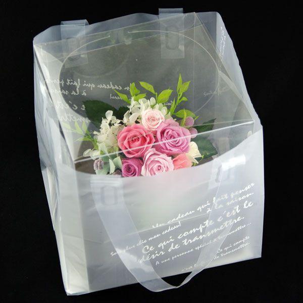 プリザーブドフラワー 結婚祝い 電報 祝電プレゼント 花 クリアケース ボックス candy 送料無料|solargift|05