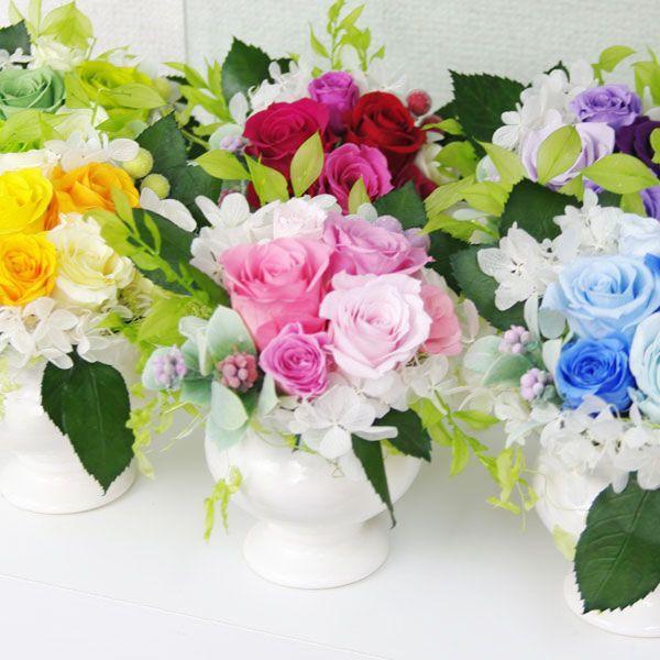 プリザーブドフラワー 結婚祝い 電報 祝電プレゼント 花 クリアケース ボックス candy 送料無料|solargift|06