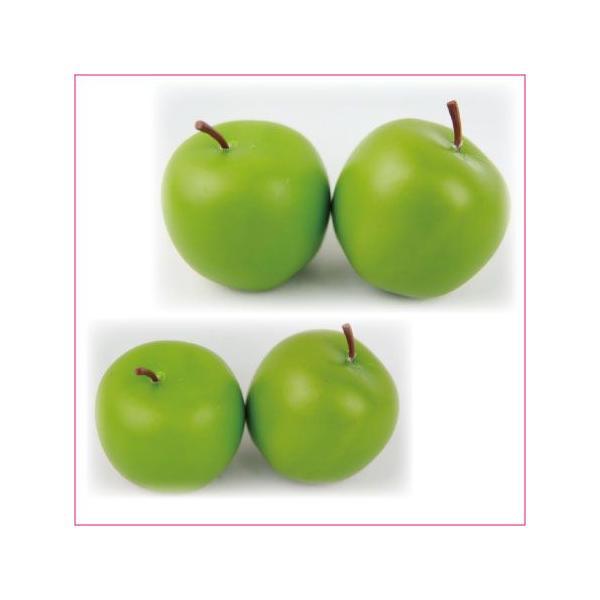 ブライトアップル M 3.5cm グリーン 小分け 2個入 りんご 東京堂|solargift|02