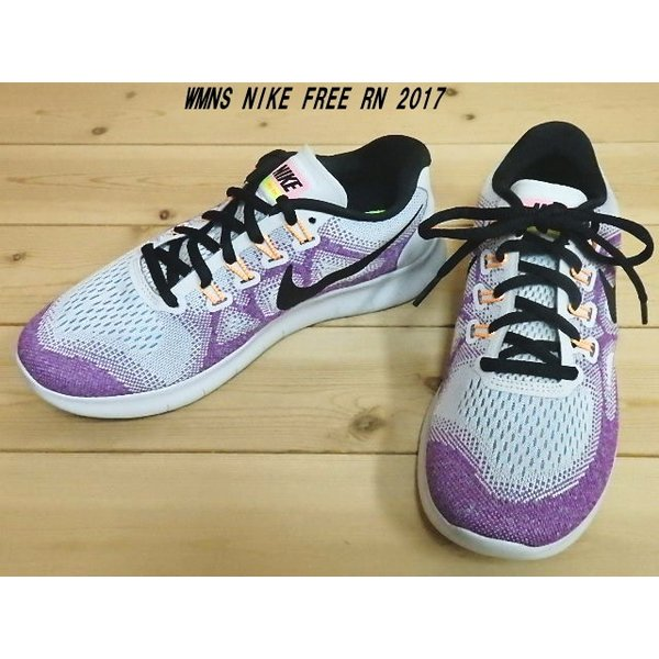 ee70819e34dc WMNS NIKE FREE RN 2017 OFF WHITE BLACK-HOT PUNCH 880840-102 ウィメンズ
