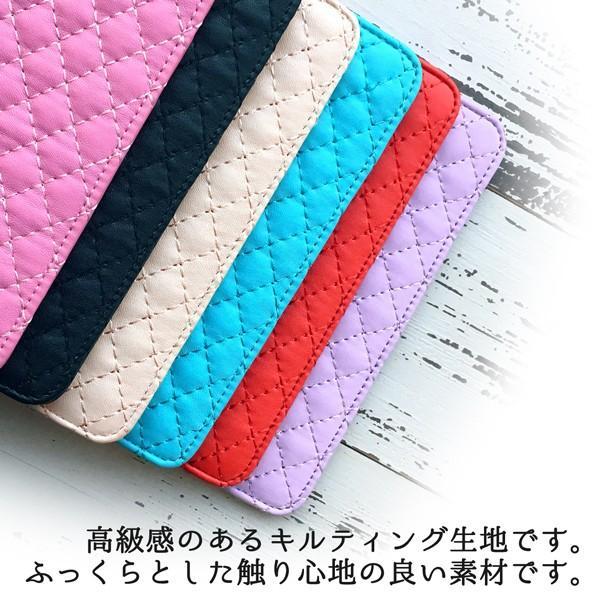 LGS02 LG X screen ミラー付き キルティング 手帳型ケース lgxscreen エルジーxスクリーン lgx screen スマホ ケース カバー スマホケース 手帳型 手帳|soleilshop|07