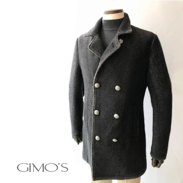 メタルボタンコート ジモス GIMO'S メンズ|solfiglio