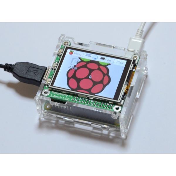 Raspberry Pi(ラズベリーパイ)用タッチパネル液晶モニター 2.4inch RPi LCD 初心者向け詳細説明書つき サポートあり|solinnovay