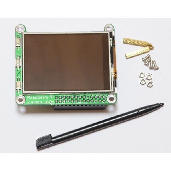 Raspberry Pi(ラズベリーパイ)用タッチパネル液晶モニター 2.4inch RPi LCD 初心者向け詳細説明書つき サポートあり|solinnovay|03