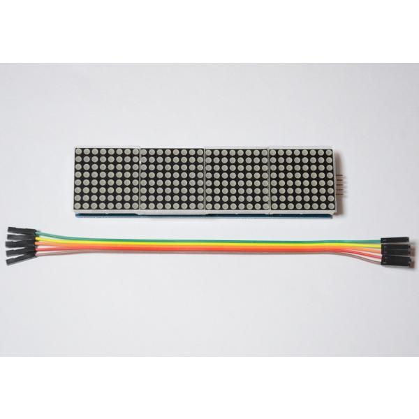 新幹線のアレみたいに… Raspberry Piで作る小型電光掲示板(8X32 ドットマトリクスLED)初心者向け説明書、サポート付 日本語表示もサポート|solinnovay|04